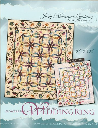 Judy Niemeyer 'Flowers for My Wedding Ring' Foundation Paper Piecing Quilt Pattern