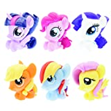 Mash'Ems Fash'Ems - My Little Pony 4 Pack (4 Blind Capsules Per Order) Squishy Collectible Toy