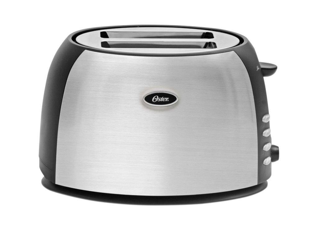 Buy Oster TSSTJC5BBK 800-Watt 2-Slice Pop-up Toaster (Black/Steel ...   {Toaster 34}