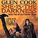 She Is the Darkness: Chronicles of The Black Company Audiobook by Glen Cook Narrated by Jonathan Davis