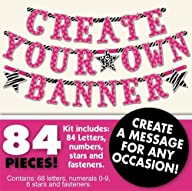 Create Your Own Banner Kit Any Messag…