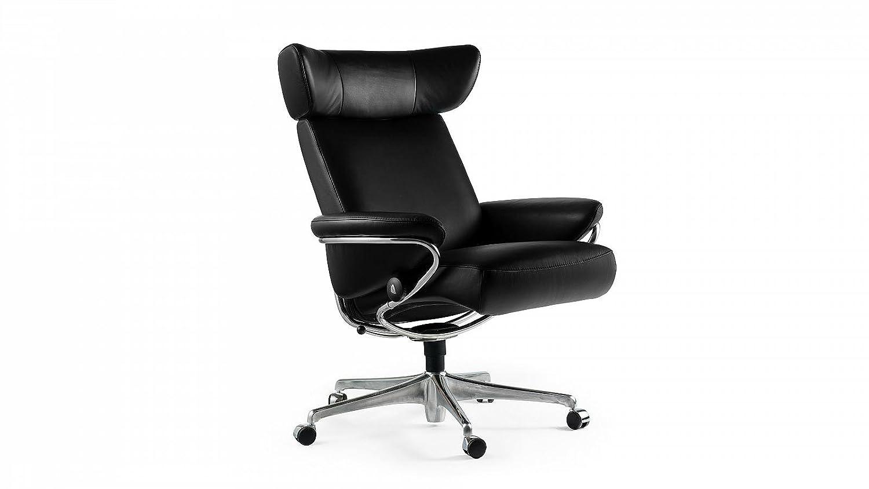 Stressless® Jazz Home Office (M) Schwarz Bürostuhl Chefsessel günstig kaufen
