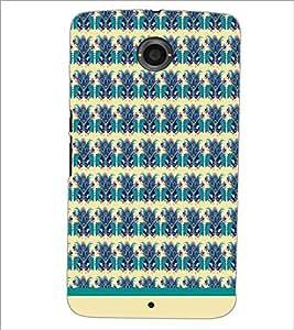 PrintDhaba Floral Pattern D-1498 Back Case Cover for MOTOROLA GOOGLE NEXUS 6 (Multi-Coloured)