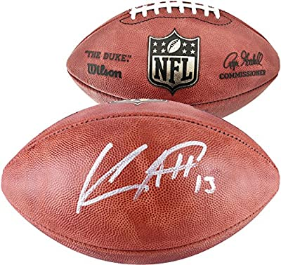 Keenan Allen San Diego Chargers Autographed Duke Pro Football - Fanatics Authentic Certified - Autographed Footballs