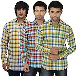 Masculine Affair Set Of 3 Casual Shirts