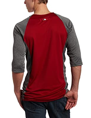 MLB Arizona Diamondbacks 3/4 Sleeve Crew Neck Featherweight Tech Fleece Pullover