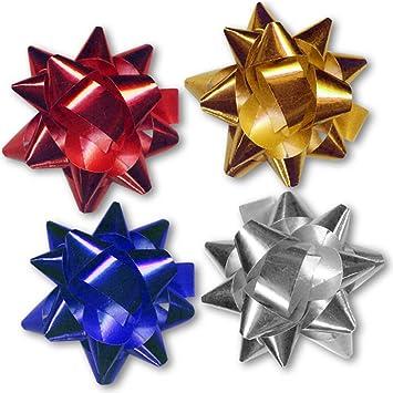 12 noeuds pour pour l 39 emballage cadeau no l rouge dor dor argent bleu en. Black Bedroom Furniture Sets. Home Design Ideas