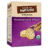 Back To Nature, Organic Stoneground Wheat Crackers, 6 oz.
