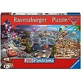 Cars - Puzzle panorama XXL, 200 piezas (Ravensburger 12645 3)
