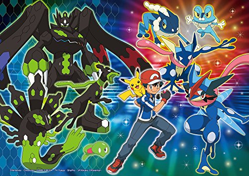 100-piece-jigsaw-puzzle-Pokemon-XY-Z-Jigarude-Satoshi-moonlight-moth-Large-piece-182x257cm