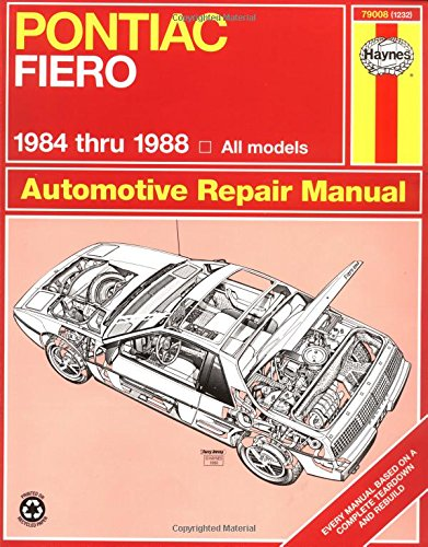 Pontiac Fiero, 1984-1988 (Haynes Repair Manual) front-319929