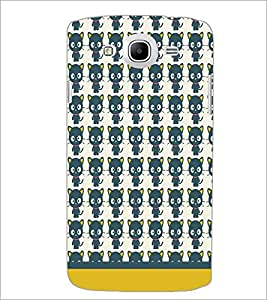 PrintDhaba Kitty pattern D-1765 Back Case Cover for SAMSUNG GALAXY MEGA 5.8 (Multi-Coloured)