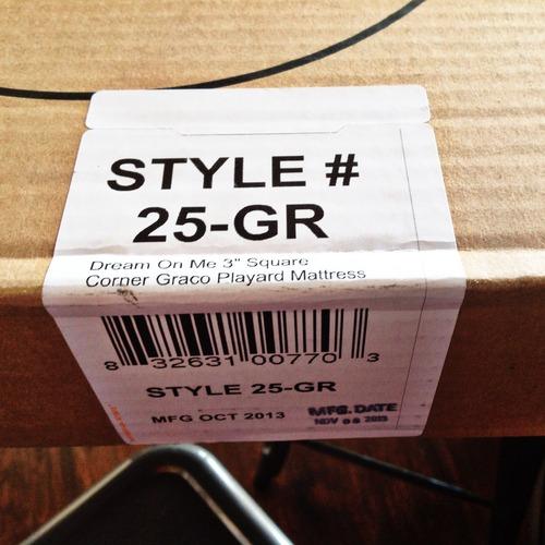 Amazon Com Dream On Me 3 Quot Playard Mattress White