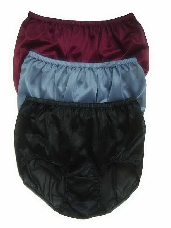 Höschen Unterwäsche Großhandel Los 3 pcs LPK8 Wholesale Panties Nylon jetzt bestellen