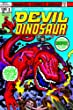Devil Dinosaur by Jack Kirby
