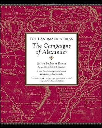The Landmark Arrian: The Campaigns of Alexander (Landmark (Anchor Books)) written by Arrian