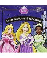 Disney Princesses : Noël : Avec des stickers en or