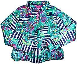 Lilly Pulitzer Resort White Paradisio Mini Kate Puffer Jacket