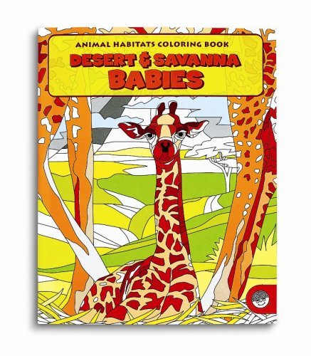 Coloring Book: Desert & Savanna Babies
