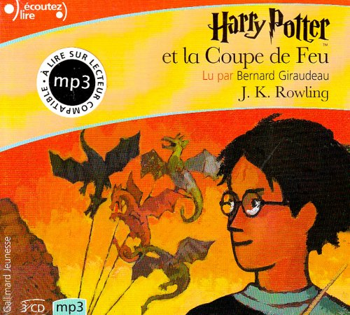 Harry potter et la coupe de feu cd rowling j k gallimard - Acteur harry potter et la coupe de feu ...
