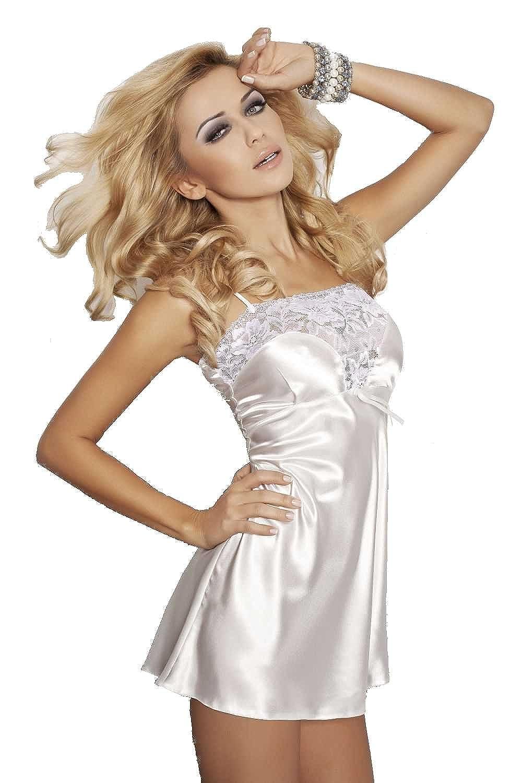 Lady-Mode Negligee aus Satin Flores (XS – 2XL) online bestellen