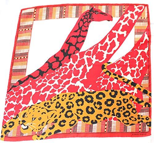 longchamp-seidentuch-68-x-68cm-tierprint-giraffe-und-leopard-scarve