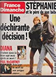 FRANCE DIMANCHE Princess Stephanie Diana Paul & Linda McCartney 4/30 1998