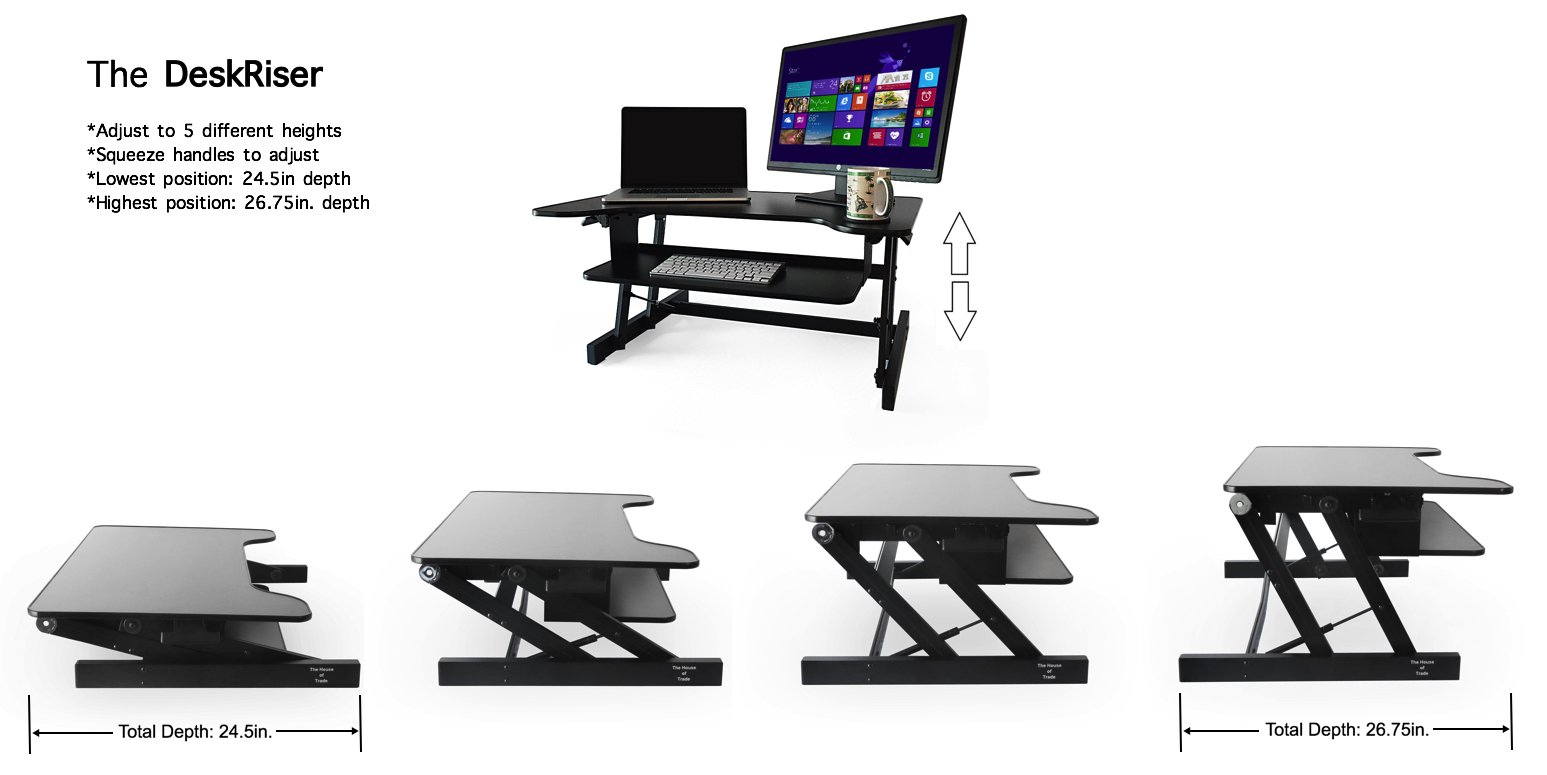 Dual Monitor Stand Nz 100 Standing Desk Monitor Height