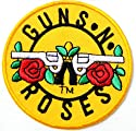 GUNS N ROSES Heavy Metal Rock Punk Music Band Logo Jacket T-shirt Patch Sew Iron on Embroidered Badge Sign