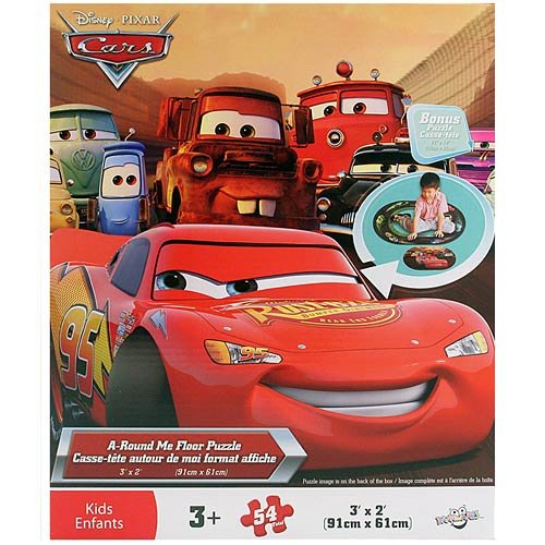 Cheap Cars Disney Pixar Cars A-Round Me Floor Puzzle [54 Pieces] (B004QXRM12)