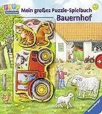 img - for Mein gro es Puzzle-Spielbuch Bauernhof book / textbook / text book