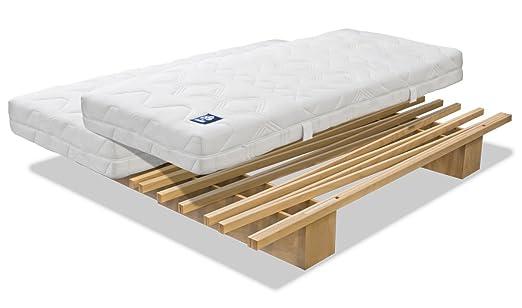 "Tojo - ""v"" Bett, 90 bis 180 cm"