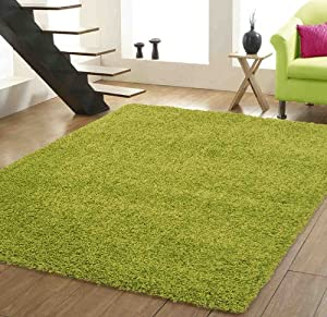 xl large luxury plain lime green shaggy rugs sale 200 x