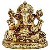 Redbag Mangal Murti Lord Ganesha Brass Sculpture
