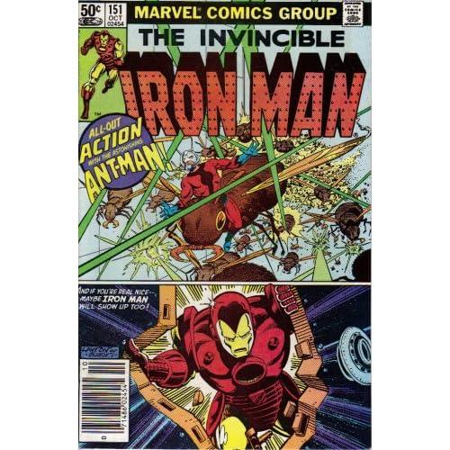 Iron Man #151 Comic Book