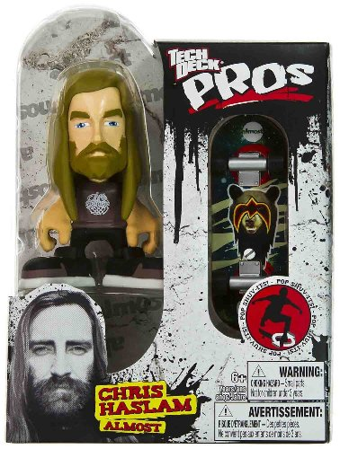 Chris Haslam - Almost: Tech Deck Pros Skater Figure + Finger Skateboard Series - 1