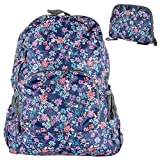 Twiga Trends Travel Daypack Foldable Backpack in Beautiful Prints