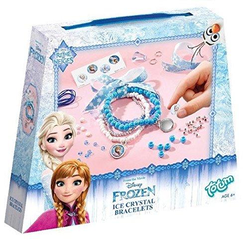 Disney Frozen Ice Crystals - Juego de perlas para crear pulseras de juguete Disney Frozen (680043)