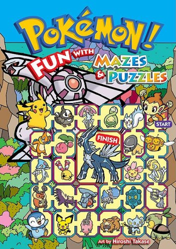 Pokémon: Fun With Mazes  &  Puzzles