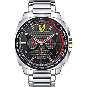 Scuderia Ferrari Watches Men's Aeroevo Chronograph Watch With Black Dial