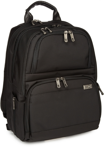B004UCOQ2C Victorinox Luggage Architecture 3.0 Big Ben With Security Fast Pass Backpack, Black, One Size
