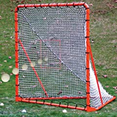 Buy 72 x 72 Folding Lax Goal with Throwback by EZGoal