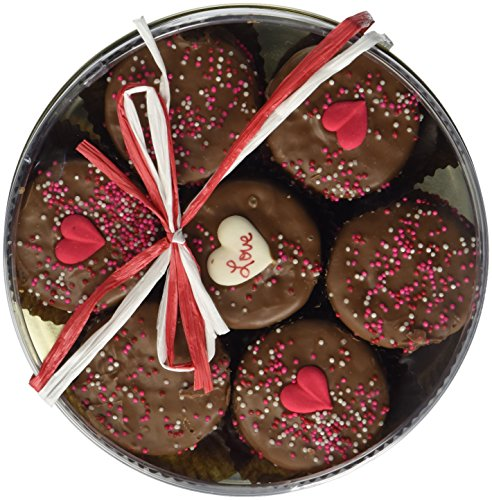 Milk Chocolate Dipped Oreo Cookies Decorated with Love 7 Oreo Assortment (Chocolate Valentine Day compare prices)