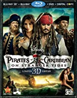Pirates of the Caribbean: On Stranger Tides (Five-Disc Combo: Blu-ray 3D / Blu-ray / DVD / Digital Copy) from Walt Disney Studios Home Entertainment