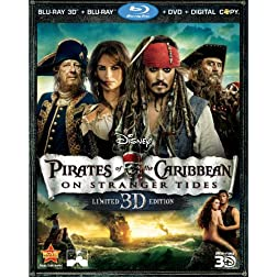 Pirates of the Caribbean: On Stranger Tides (Five-Disc Combo: Blu-ray 3D / Blu-ray / DVD / Digital Copy)
