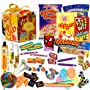 The Original Retro Sweets Gift Cube Box From Dandy Candy - The Perfect Gift For Everyone: Includes 70 Retro Sweets From Your Childhood Memories - Great Birthday Gift