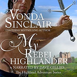 My Rebel Highlander Audiobook