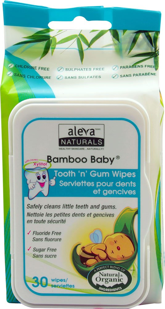 Tooth and gum wipes for baby