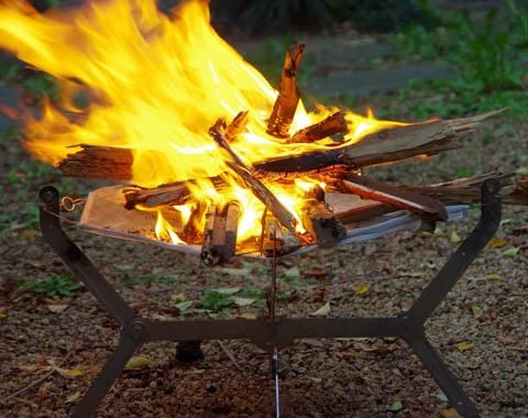 MONORAL(モノラル) 焚き火メッシュ 焚き火台用火床
