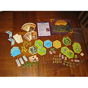 Click to buy Settlers of Catan: Traders and Barbarians Expansion from Amazon!